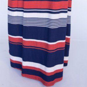 Agnes & Dora Skirts - Vintage Agnes & Dora Maxi Skirt, Striped